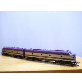 RIVAROSSI 1945, locos diesel EMD E8 A  ATLANTIC COAST LINE    neuf   BO