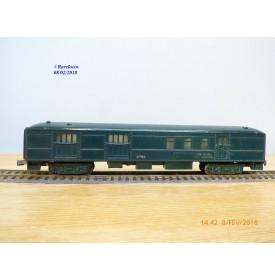 AC Gilbert / American Flyer  121, fourgon postal (baggage mail ) grande lignes  US