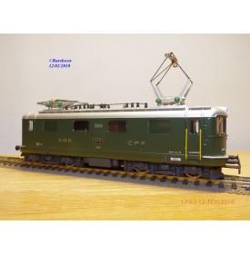 HAG  221 . 01,  Motrice Re 4/4 I  N° 10035  SBB   neuf   BO