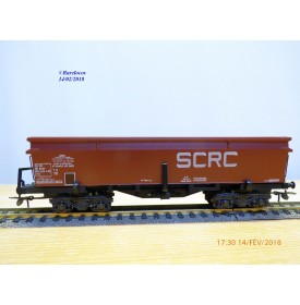 France Trains 103,  wagon trémie type Eal   SCRC    SNCF   BO