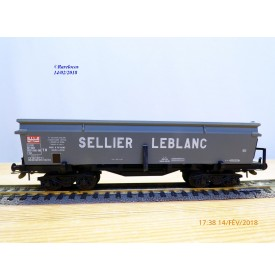 France Trains 105,  wagon trémie type Eal   SELLIER  LEBLANC    SNCF   BO