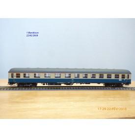 ADE 3001, voiture grandes lignes type ABüm 224   mixte 1/2 Kl.   Rheingold  DB   BO
