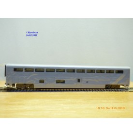 WALTHERS 932 6150, voiture coach naggage  Superliner 1  Neuf   BO