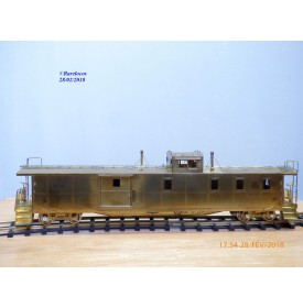 Precision Scale  15639, original caboose type X-181 Great Northern / Burilington Northern   BO