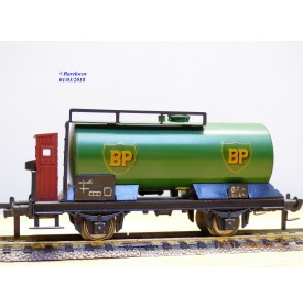 Fleischmann 1465 BP,  rare wagon citerne BP   DB