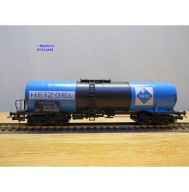 RÖWA 2304 wagon plat chargé de 2 conteneurs LESAGE  DB BO