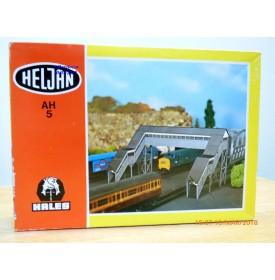 HELJAN AH5, passage supérieur piéton  HO  1/87