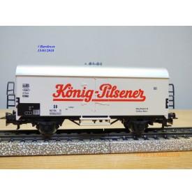 Märklin 4418, wagon couvert réfrigérant type Ichqrs 377   KÖNIG PILSENER   DB    BO