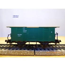 Märklin 4685, wagon couvert à toit plat  type Ni  K.W.Sts.B.  BO