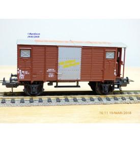 LIMA véro  303546,  wagon couvert à guérite   type Gklm-v  SBB  neuf  BO     neuf    BO