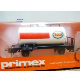 PRIMEX ( Märklin )  4581, wagon citerne unifié  ESSO   DB   neuf    BO