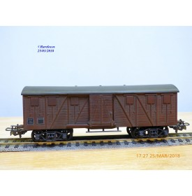 HORNBY acHO 7241, wagon couvert   SNCF   BO