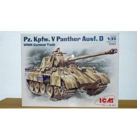 ICM 35361 char allemand Panther D Pz.Kpfw V 1/35