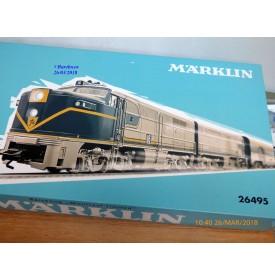 Märklin  26495, coffret Montreal Limited  Delaware and Hudson D&H    Neuf     BO