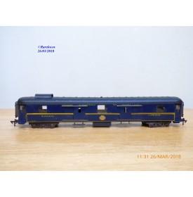 JEP / RATEAU  6656, fourgon grandes lignes   CIWL   N° 1240   SNCF