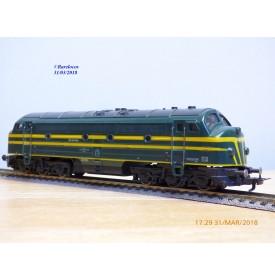 Fleischmann 1385 - 2, loco diesel A1A A1A   Nohab  série 204   SNCB   neuf   BO