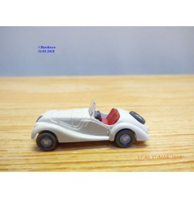 WIKING   ,  BMW 328  blanche   1/87   HO