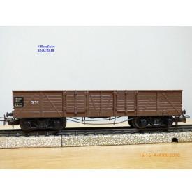 Märklin ancien 331 . 3,   wagon tombereau  DB