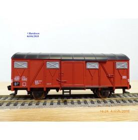 FLEISCHMANN 5330,  wagon couvert  type Gmhs 53  EUROP    DB  neuf   BO