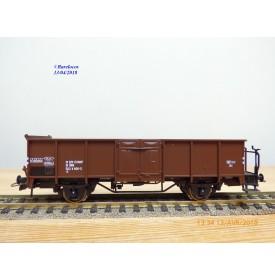 ROCO 46950,  wagon tombereau à plate forme d' extrémité    type E  ÖBB  Neuf   BO