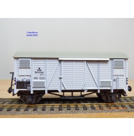 LILIPUT 256 3a , wagon couvert  ( ex type Oppeln )  DSB    BO