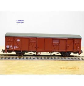 Roco 46407, wagon couvert  type Gbs 254 N°:150 1 572-2   BO