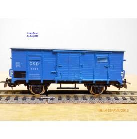 PIKO ????, wagon couvert    ancien   N° 6398   CSD   neuf     BO