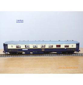 France Trains  312,  voiture Pullman cuisine -salon de 1 ère classe type Côte d'Azur   N° 4131  CIWL   BO