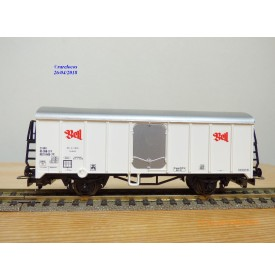 LILIPUT 221 50 , wagon couvert réfrigérant  type Ices  BELL  SBB      BO