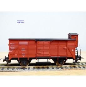 FLEISCHMANN 5355,  wagon couvert à guérite type G  DR   BO