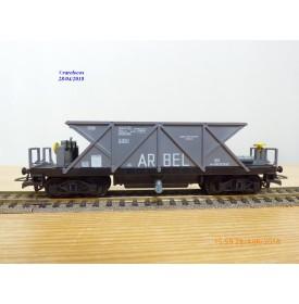 JOUEF 660, wagon trémie  à 2 bogies  type SVywf   ARBEL    SNCF  neuf    BO
