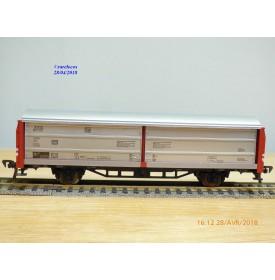 FLEISCHMANN 5335,  wagon couvert à parois coulissantes  type Hbis DB  neuf   BO