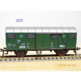 FLEISCHMANN 5339,  wagon atelier couvert  type Grs 204     DB  neuf   BO