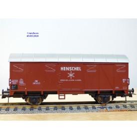 Roco 47713, wagon couvert  HENSCHEL   N°: 290421     DB   neuf    BO