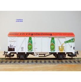LILIPUT 235 61, wagon couvert type Gklm  FAXE   DSB   BO