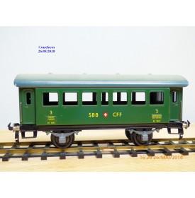 BUCO 8693 . 2, voiture de 2/3 ème classe  SBB
