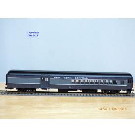 BACHMANN Spectrum  89101,  voiture grandes lignes  mixte ( combine ) New York Central  N° 304  . Neuf   BO