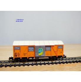 FLEISCHMANN  8331,  wagon couvert réfrigérant  transport de bananes CHIQUITA   BO   N