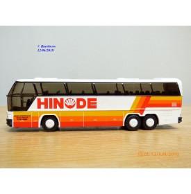 Rietze 3x88-010 , autocar de voyage NEOPLAN Cityliner  N116  HINODE     Neuf   BO