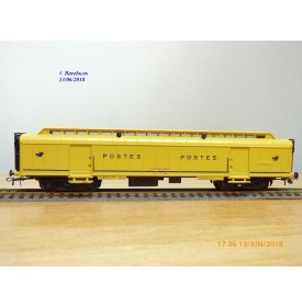 France Trains  408, allège  postale  type PEyi   SNCF   BO