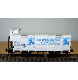 LILIPUT 215 10  wagon LÖWENBRAÜ DB BO