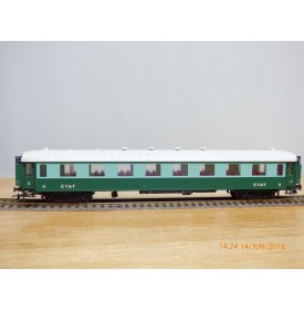 France Trains  234,  voiture salon  Transatlantique  type  B4   2 Cl. ETAT