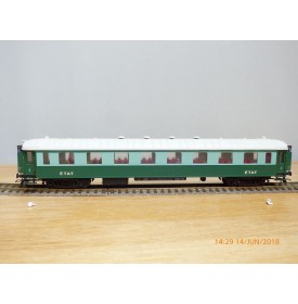 France Trains  232,  voiture salon  Transatlantique  type  A4   1 Cl. ETAT