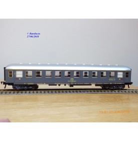 FLEISCHMANN 5142, voiture grandes lignes de 1 ère classe  grise   type Az     FS    neuf   BO