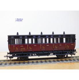 MMM RG / Clarel  ???, voiture ancienne mixte 1 / 2  classe  type AB 5   N°: 1721   PLM   BO