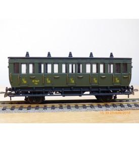 MMM RG / CLAREL ????  , voiture ancienne mixte 1 /  2 ème   classe     N° 752   ETAT    neuf   BO