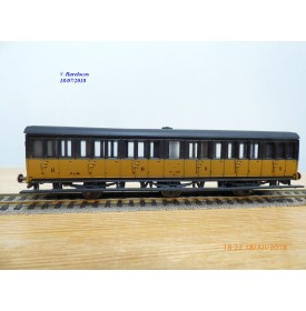 MMM-RG  / Clarel 1302?, voiture ancienne à portières latérales  à  3 essieux   2 Cl.  PLM   neuf   BO
