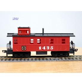 FLEISCHMANN 1435,  wagon de queue ( caboose )   AT&SF  neuf  BO