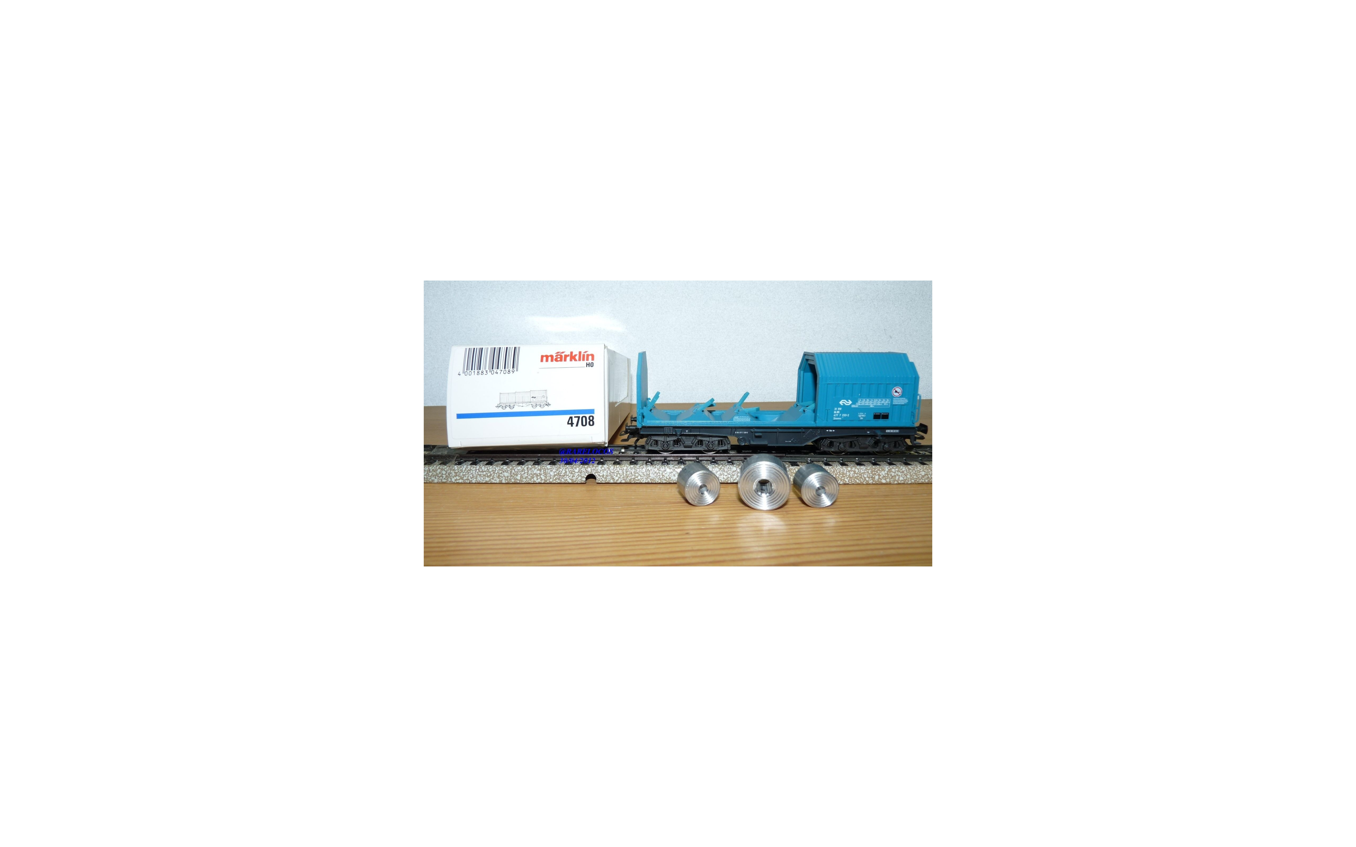 Märklin 4708  wagon à toit coulissant Shimms  NS neuf  BO