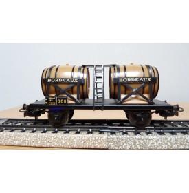 Märklin 4510 . 1, wagon bi-foudres  vins Bordeaux